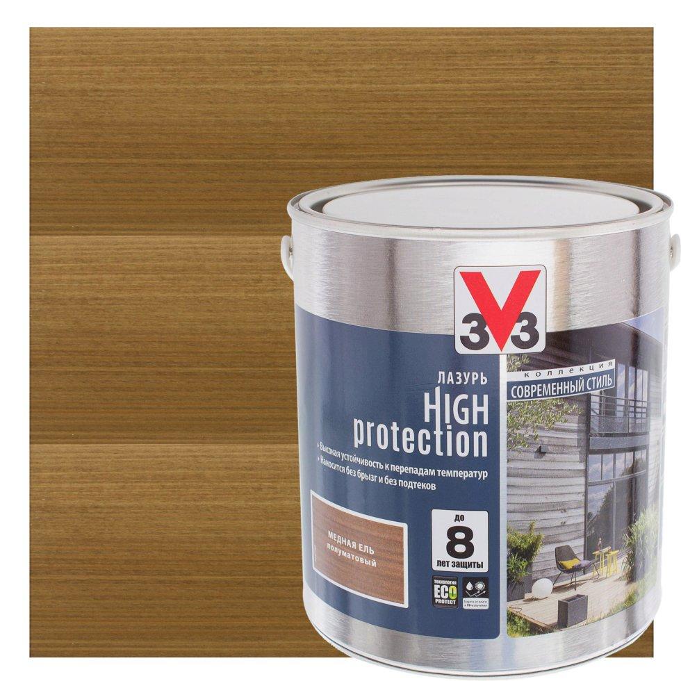Лазурь Модерн V33 цвет медная ель 2.5 л