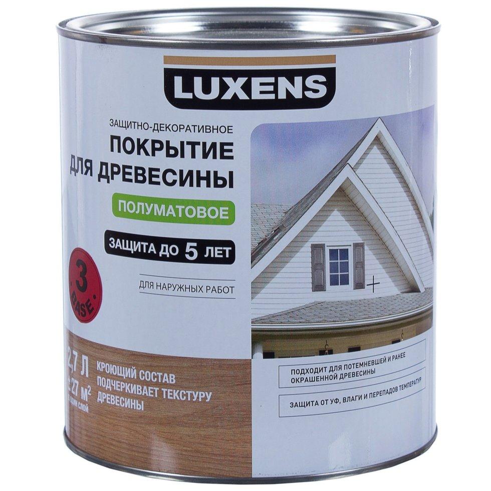 Покрытие для дерева Luxens кроющее 2.7 л база 3