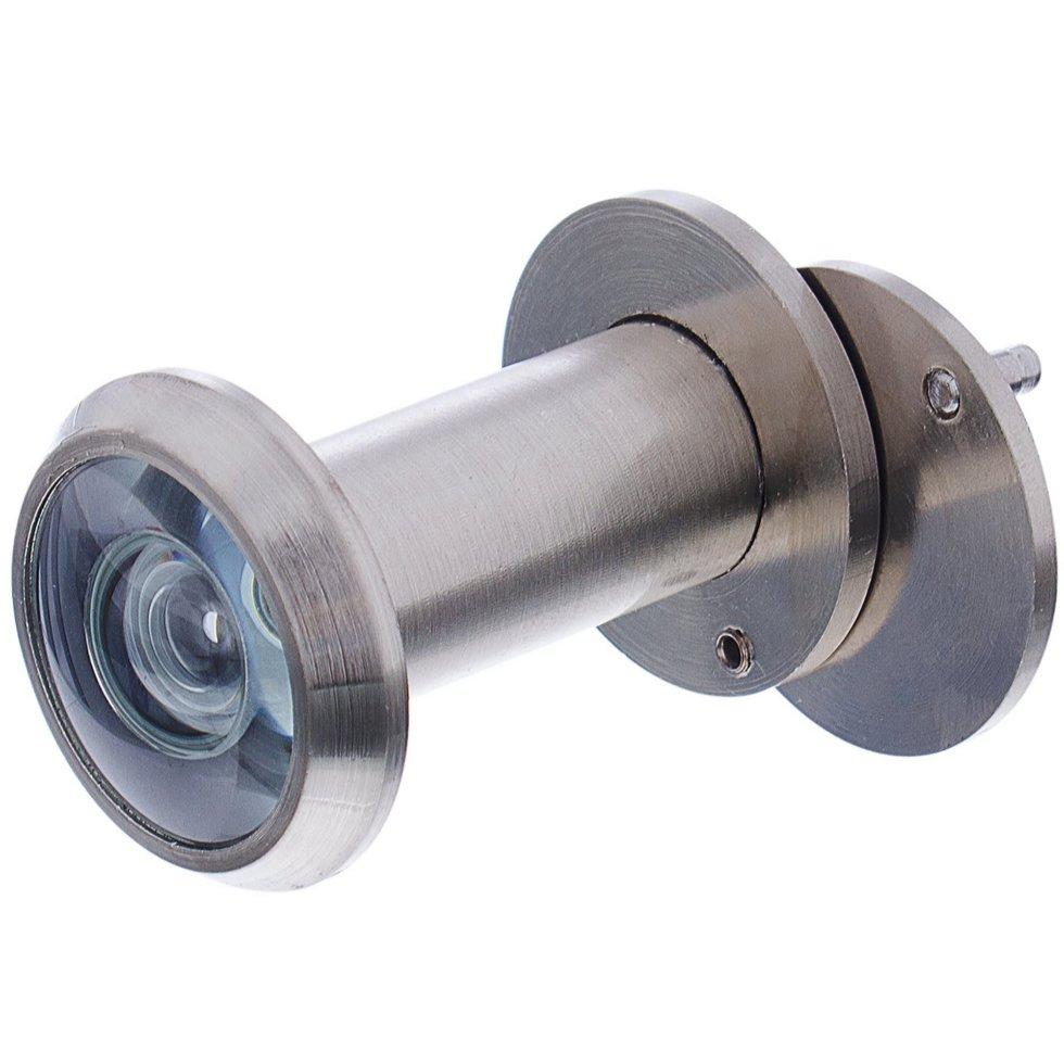 Глазок дверной Armadillo DVG1, 16x35-60 мм, цвет матовый никель