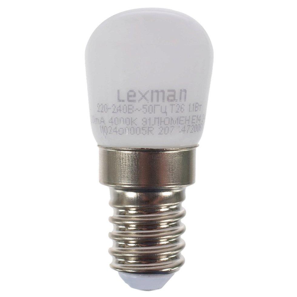 Лампа светодиодная для холодильника Lexman E14 1.2 Вт 4000K