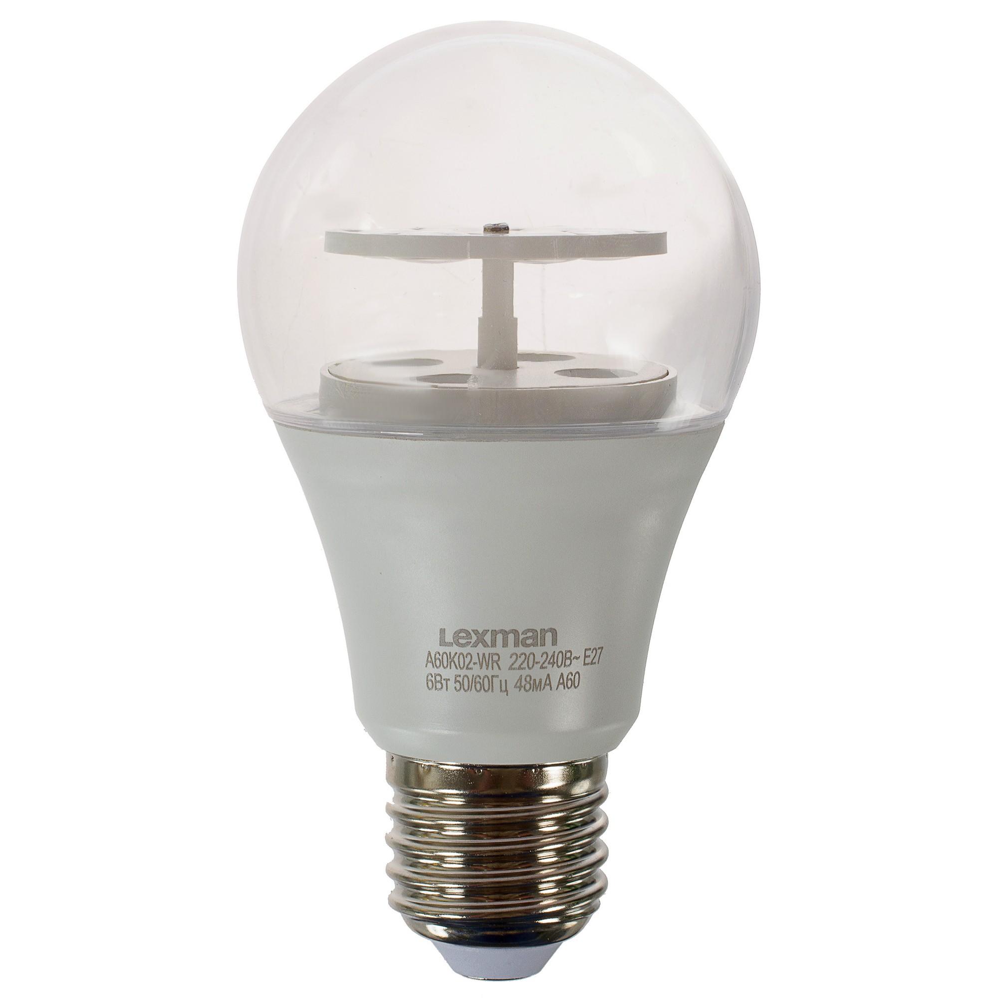 Лампа светодиодная Lexman «Бабочки» Е27 цвет зелёный/розовый