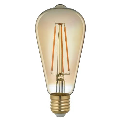 Лампа светодиодная филаментная Lexman E27 3.5 Вт 300 Лм 2000K