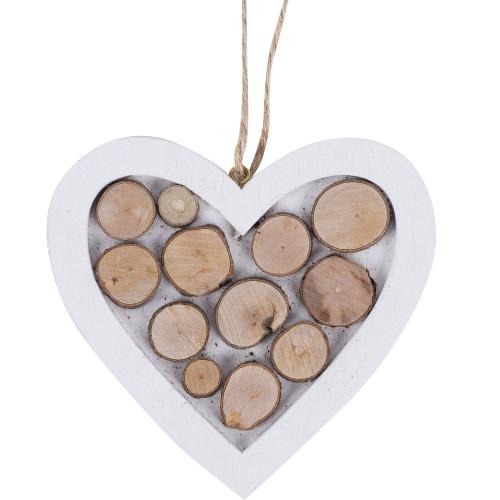 Ёлочное украшение «Сердце большое»