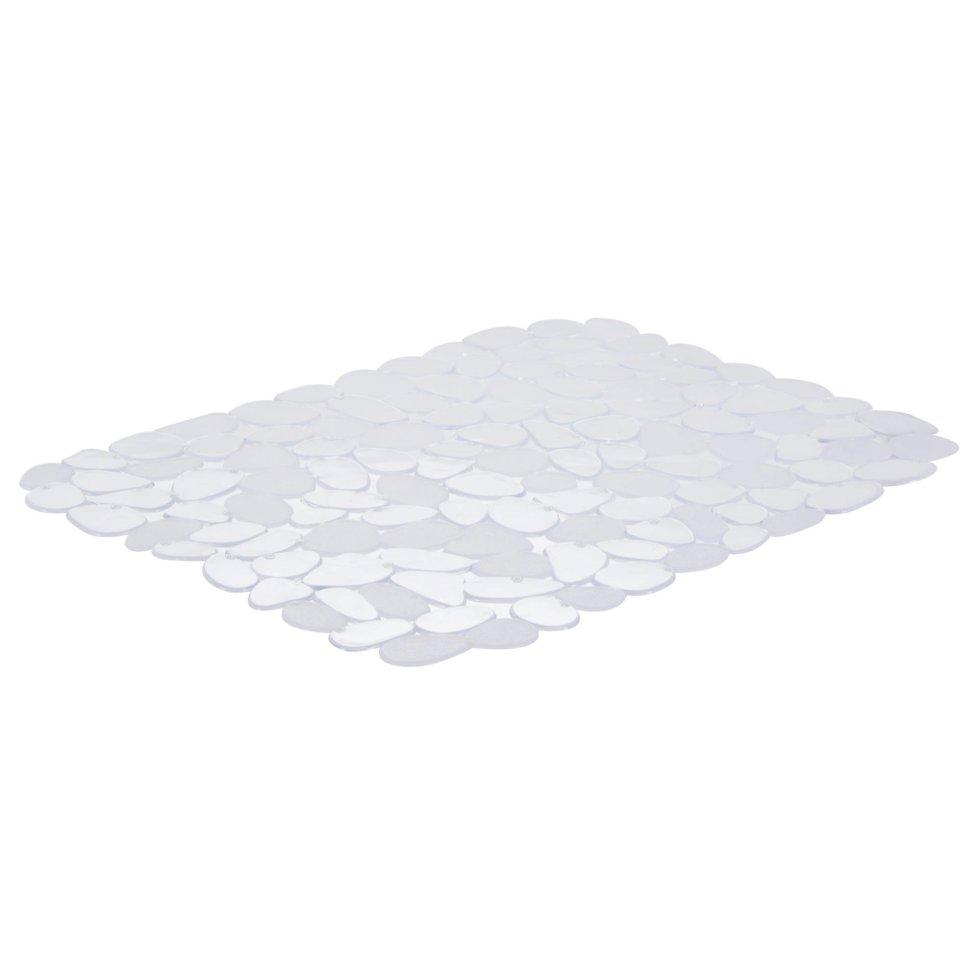 Коврик в мойку 400х305 мм прозрачный силикон