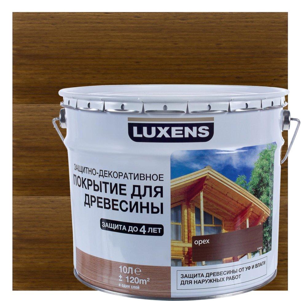 Антисептик Luxens цвет орех 10 л