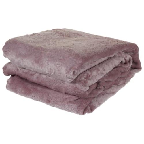 Плед «Prestige» 200х220 см микрофибра цвет розовый