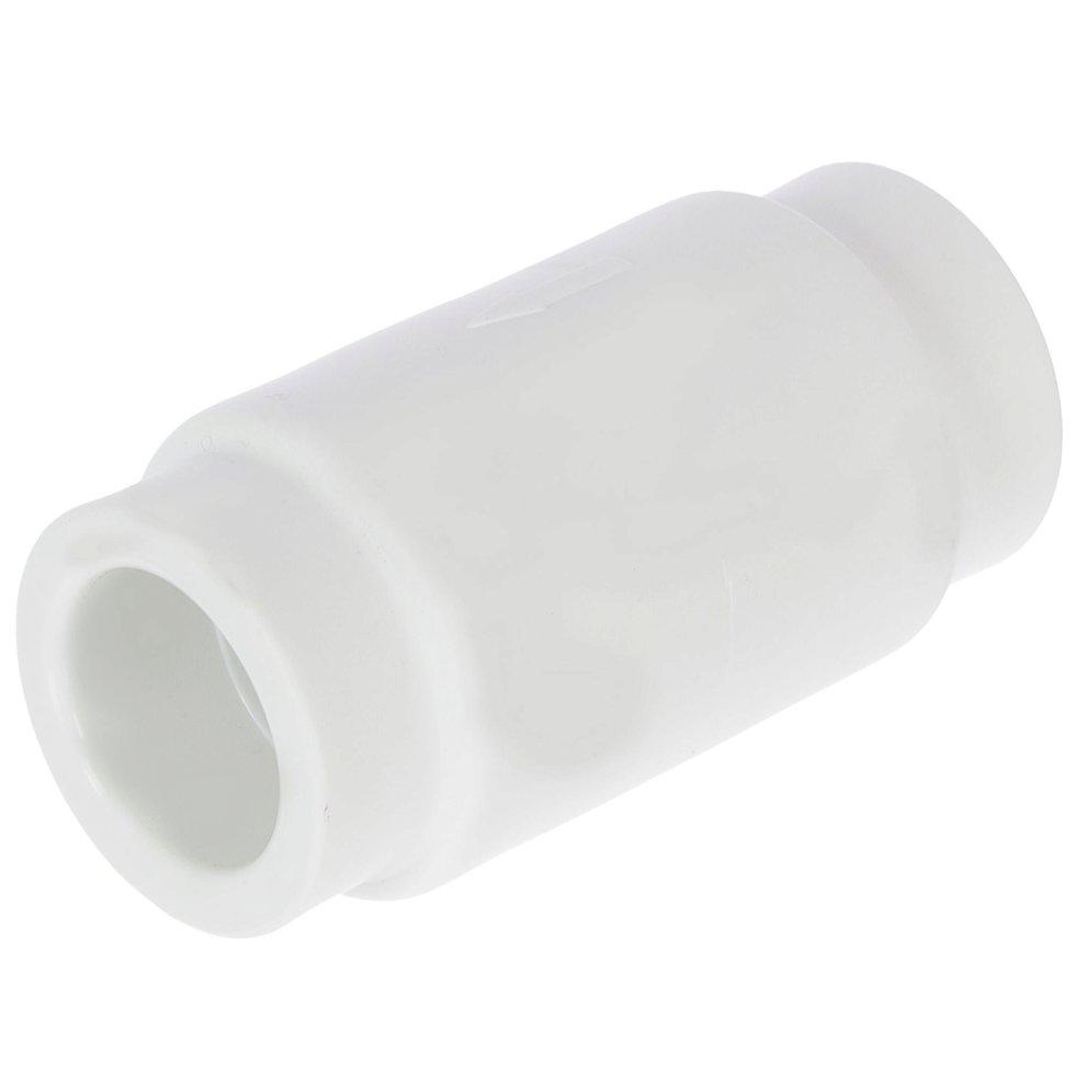Клапан обратный d 25 мм полипропилен