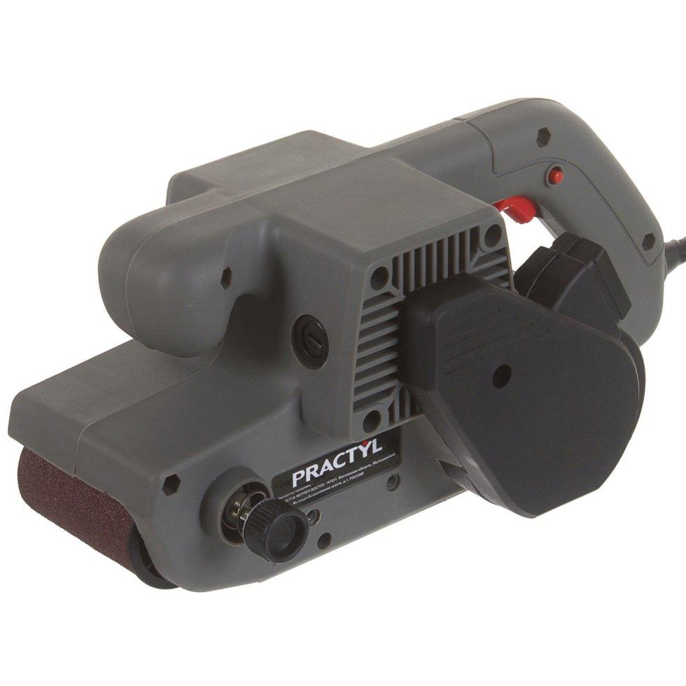 Ленточная шлифовальная машина Practyl 900 Вт 76х533 мм