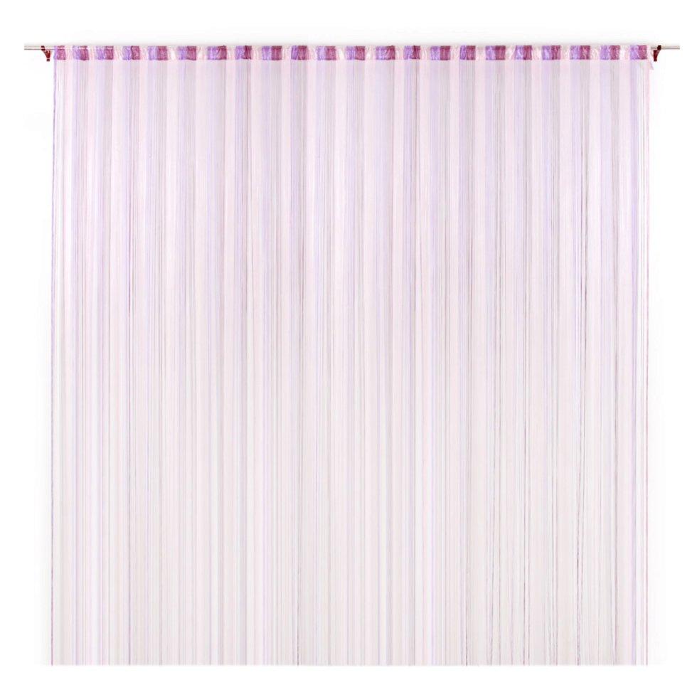 Кисея Градиент 150х280 см цвет розово-фиолетовый