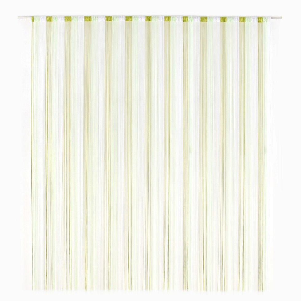 Кисея Градиент 150х280 см цвет бело-зелёный
