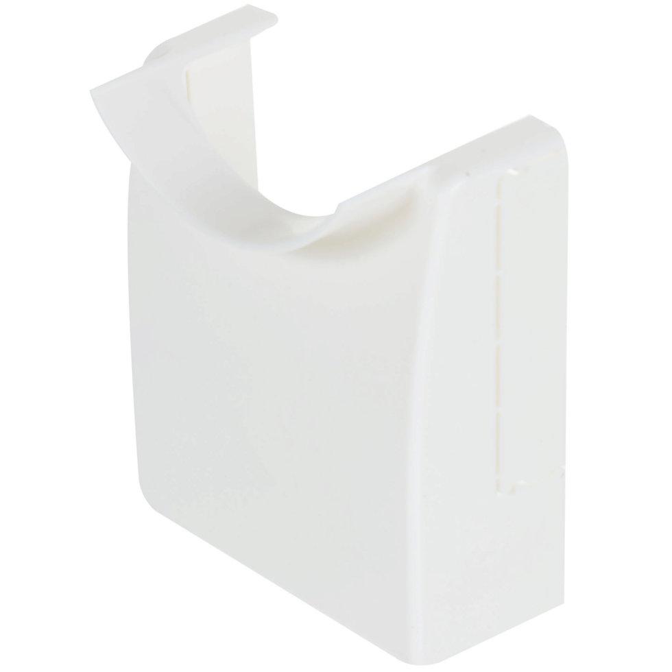 Адаптер для напольного кабель-канала 74х20 мм цвет белый