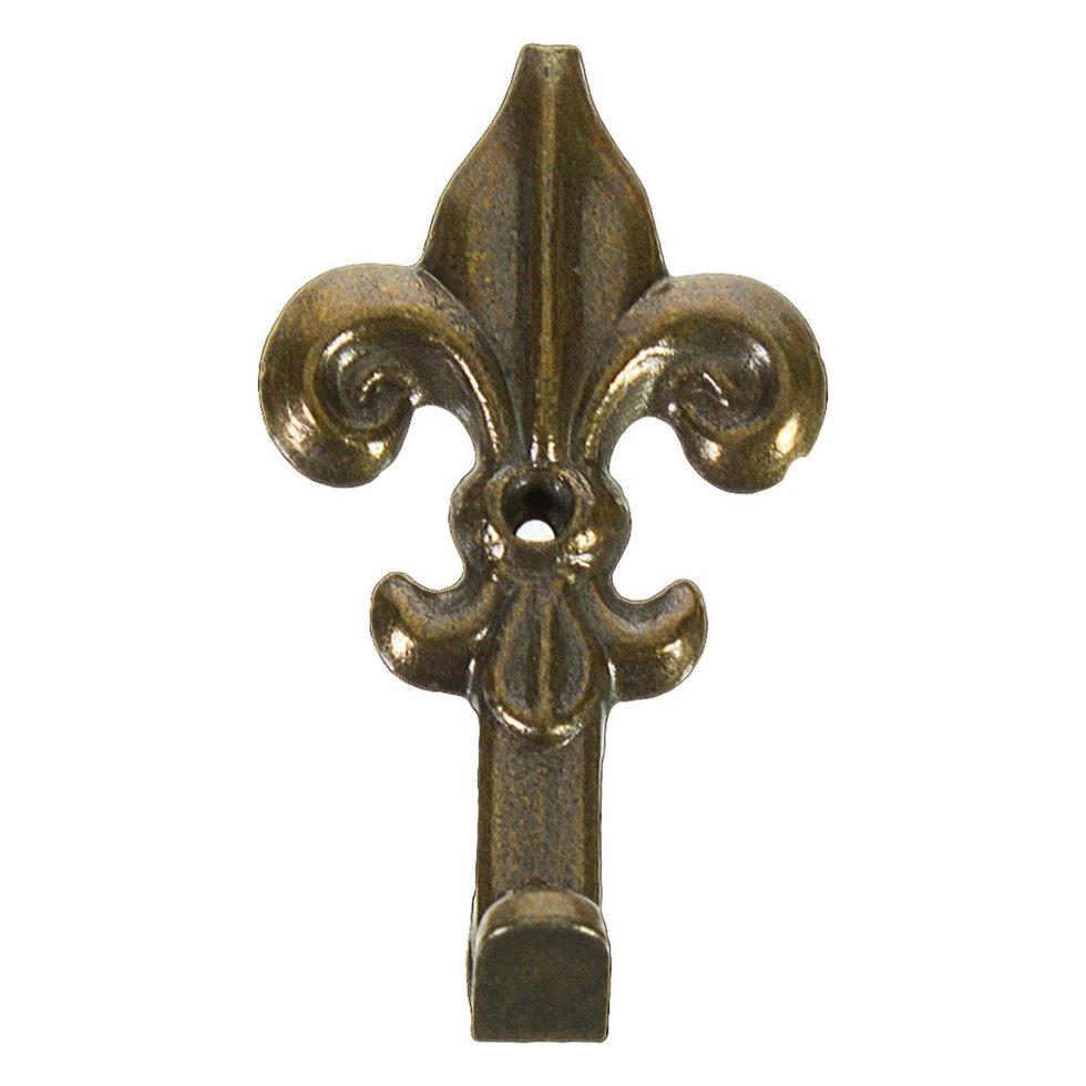 Крючок настенный Классический средний 35 мм, бронза