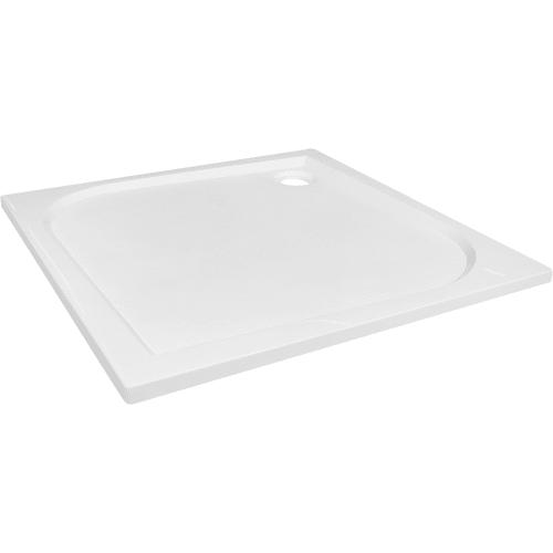 Поддон душевой квадратный литьевой мрамор 100х100 см