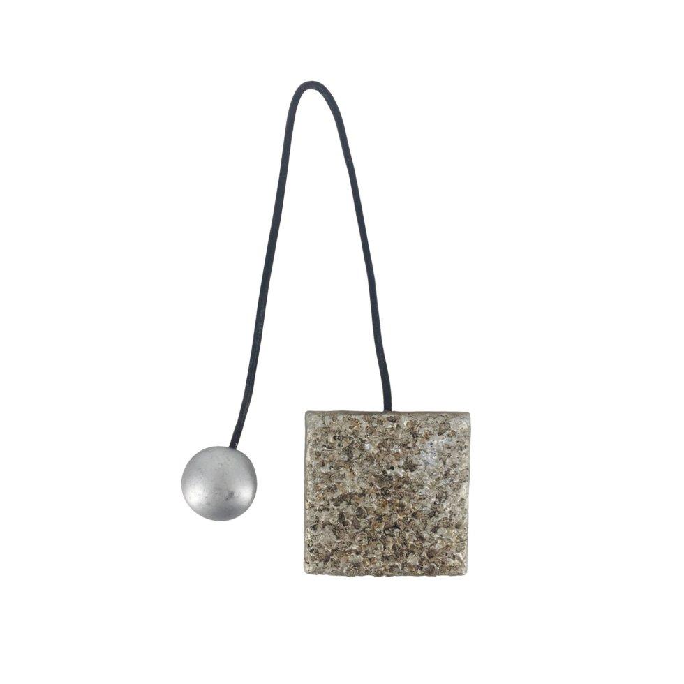 Подхват магнитный «Гала» 5.8х34 см цвет серебряный