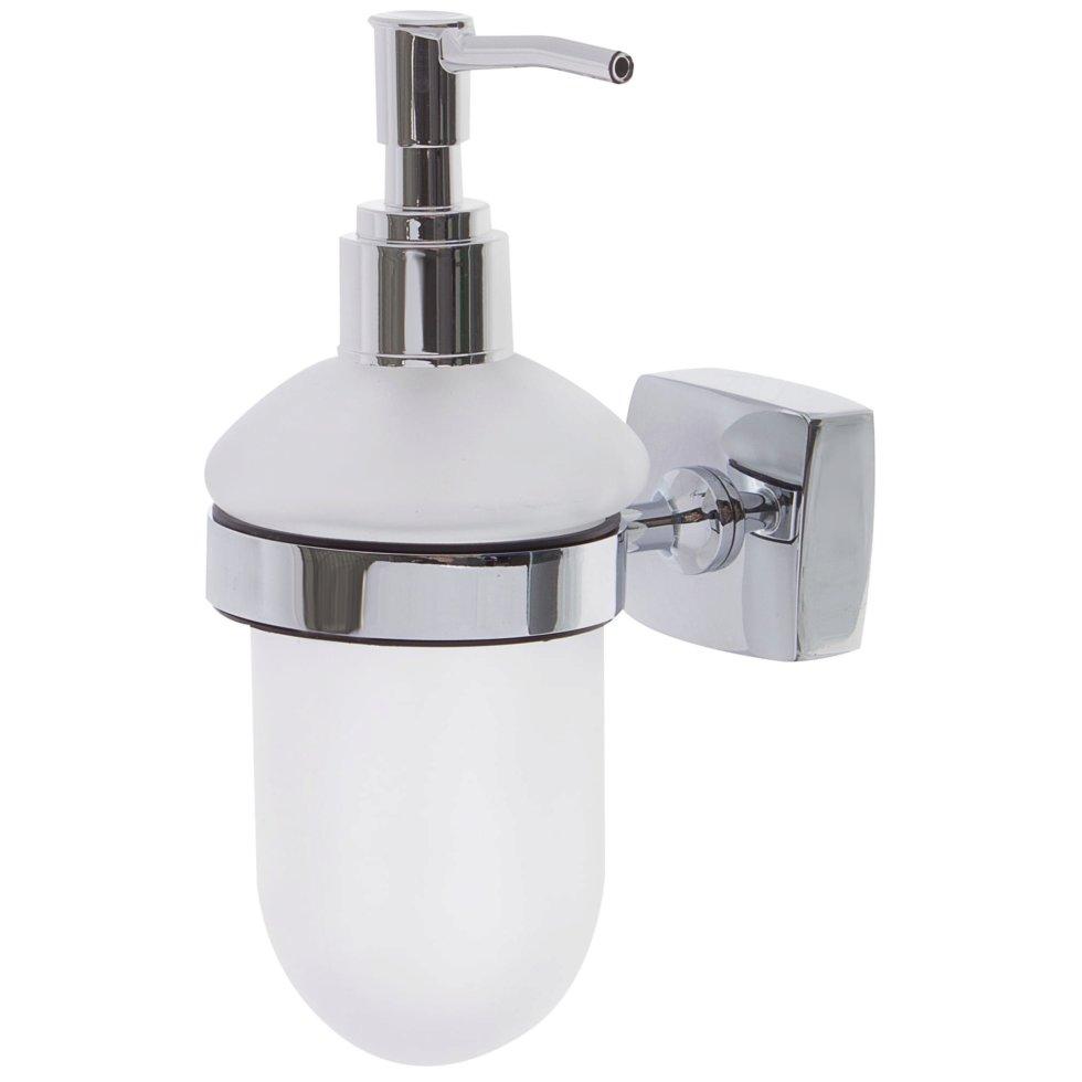 Дозатор для жидкого мыла настольный Sensea «Kvadro» цвет хром