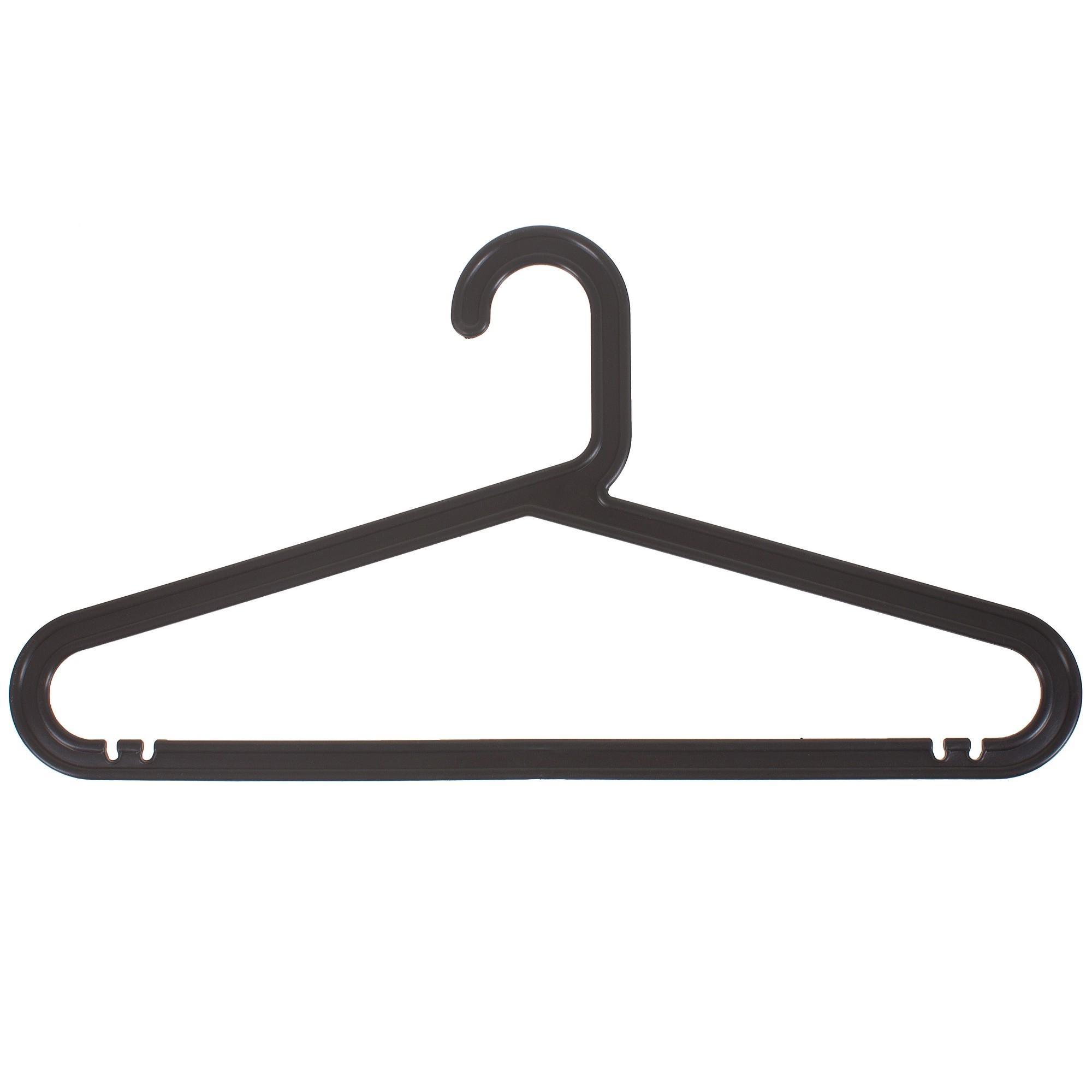 Плечики для одежды, пластик