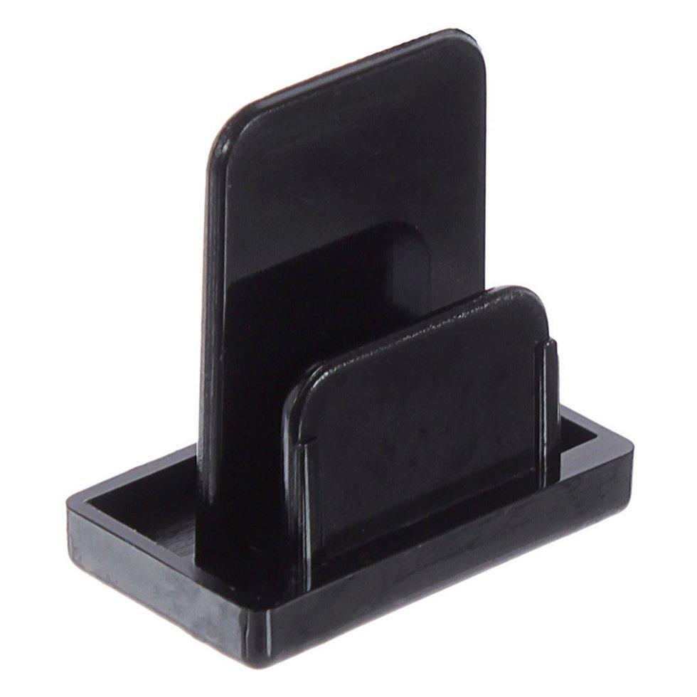 Заглушка на шину, цвет чёрный