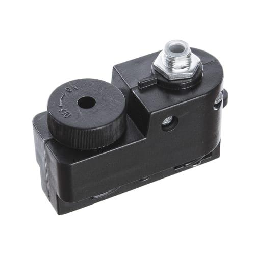 Коннектор для провода, цвет чёрный