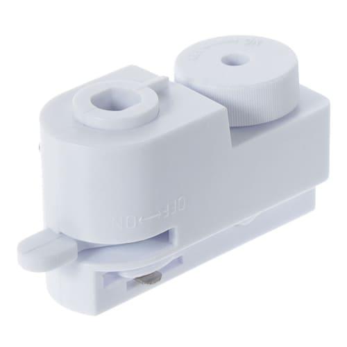 Коннектор для провода, цвет белый