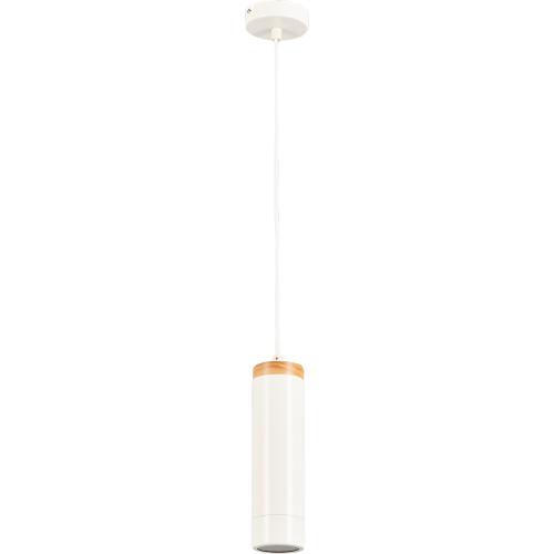 Подвесной светильник Inspire Minaki 1хGU10x42 Вт металл/пластик, цвет белый матовый