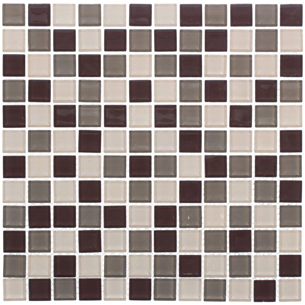 Мозаика Artens «Shaker», 30х30 см, стекло, цвет бежевый