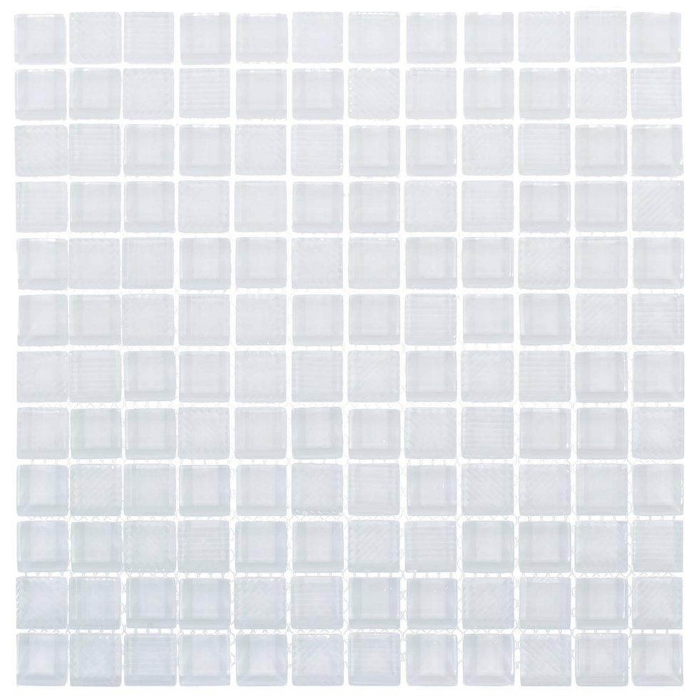 Мозаика Artens «Glass», 30х30 см, стекло, цвет белый