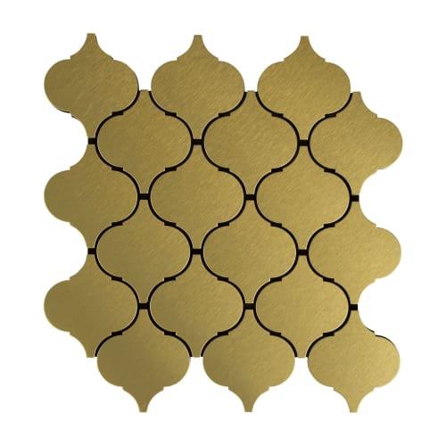 Мозаика Artens, 24.8х26 см, цвет золотой