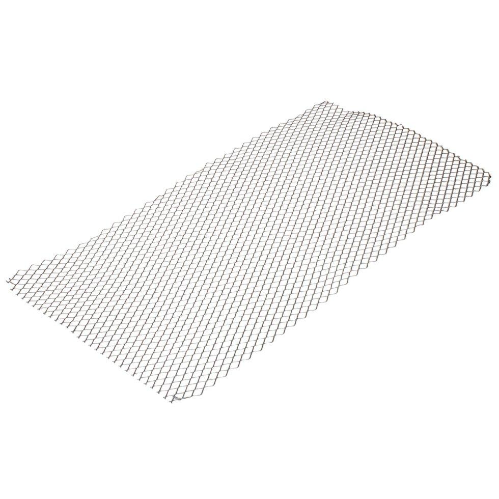 Лист декоративный ПВЛ TR16 0.8х500х1000 мм, алюминий