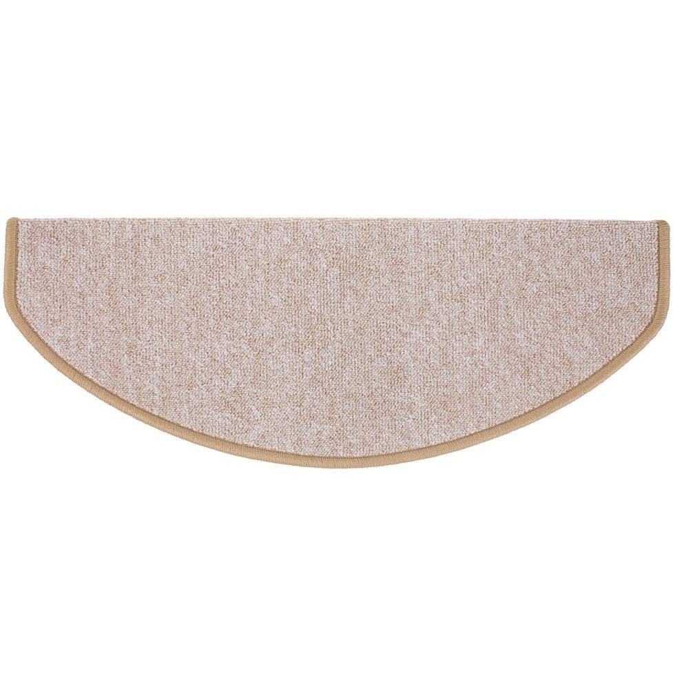 Коврик полипропиленовый на ступеньки 28х65 см цвет бежевый