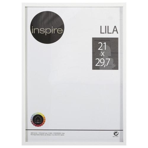 Рамка Inspire «Lila», 21х29,7 см, цвет белый
