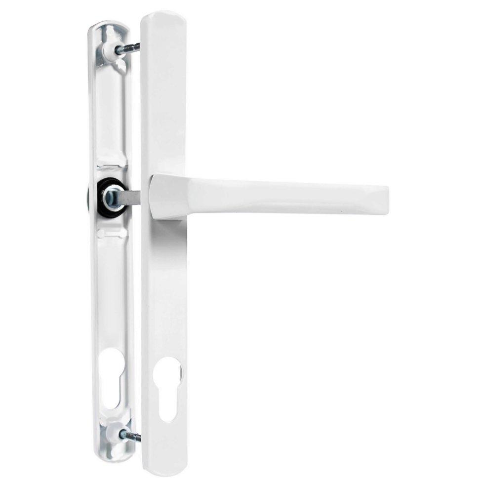 Ручки дверные на планке Apecs HP-92.7005-W, цвет белый