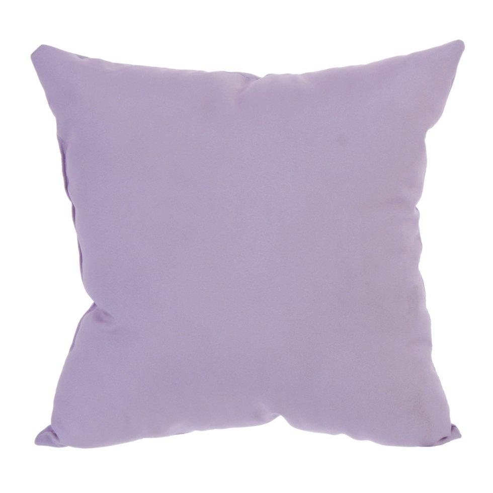 Подушка декоративная «Классика» 40х40 см цвет розовый