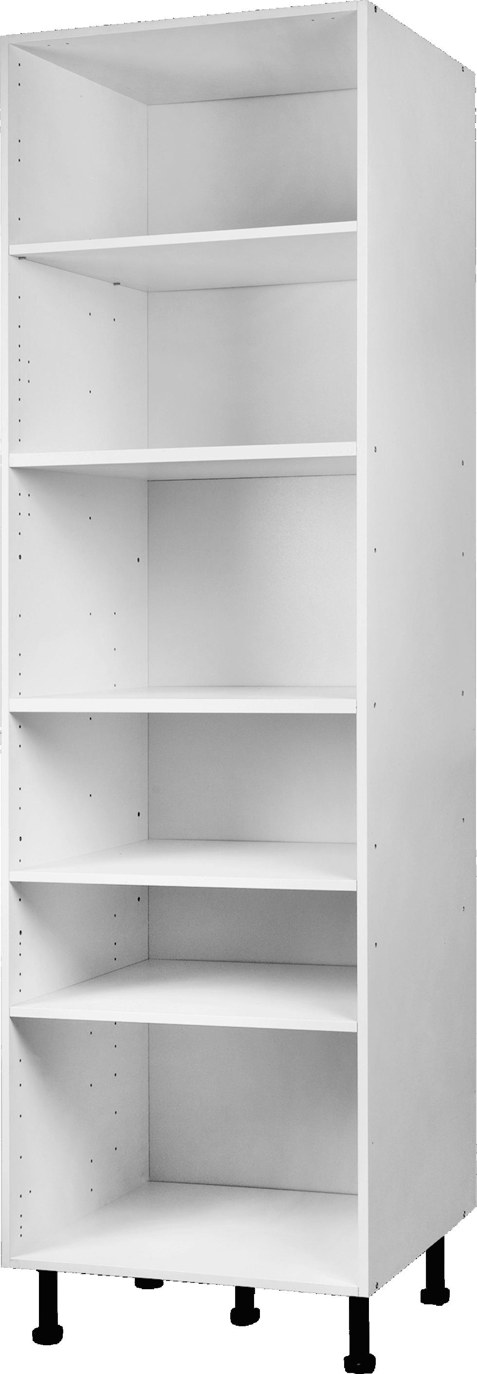 Колонка напольная 60х56х200 см, ЛДСП, цвет белый