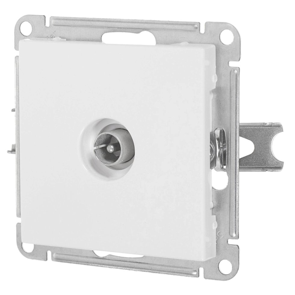 ТВ-розетка Schneider Electric W59 цвет белый