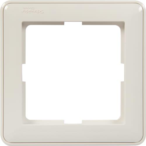 Рамка Schneider Electric W59, 1 пост, цвет белый