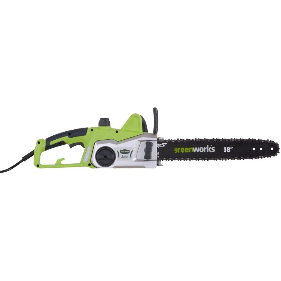 Пила цепная электрическая Greenworks 2000 Вт