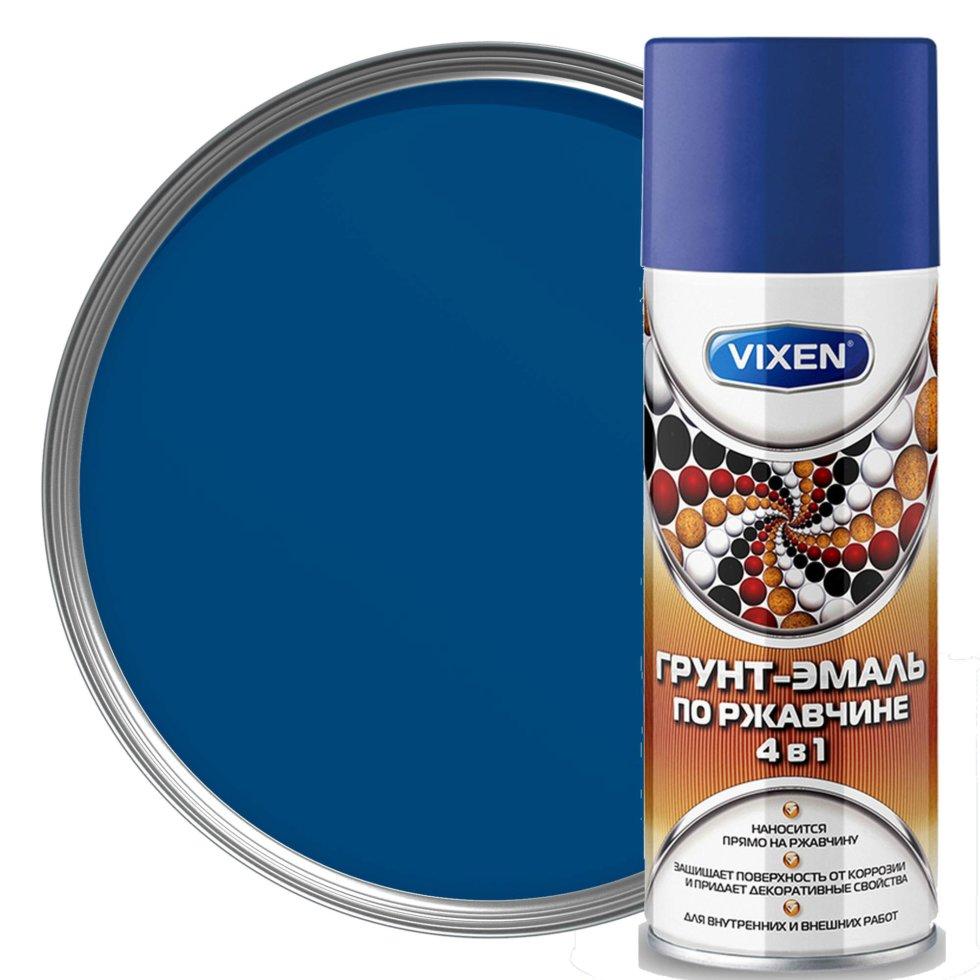 Грунт-эмаль по ржавчине Vixen-5005, 520 мл