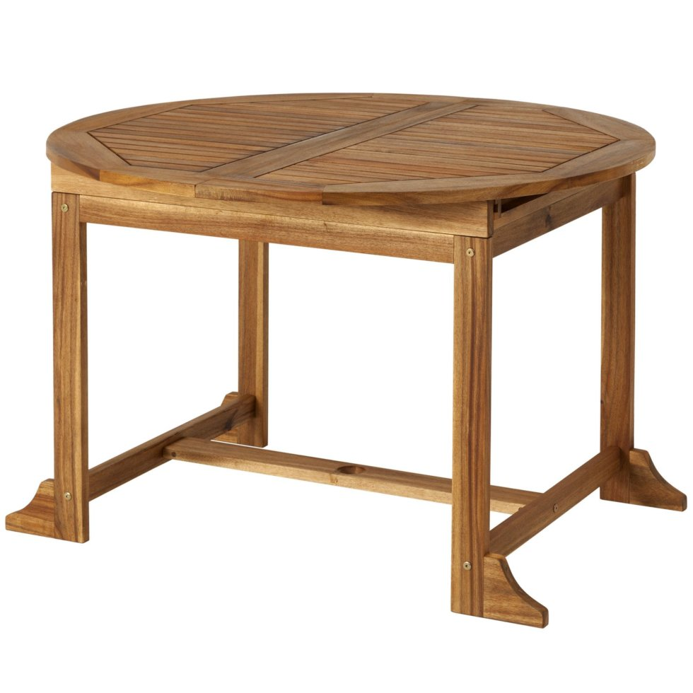 Стол складной «Порто» 110x110 см, акация