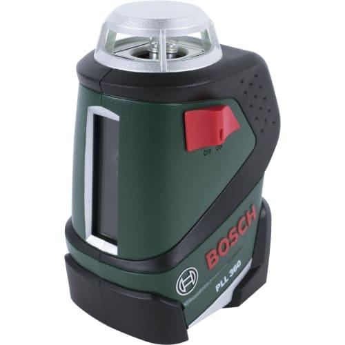 Лазерный нивелир Bosch PLL 360 на штативе