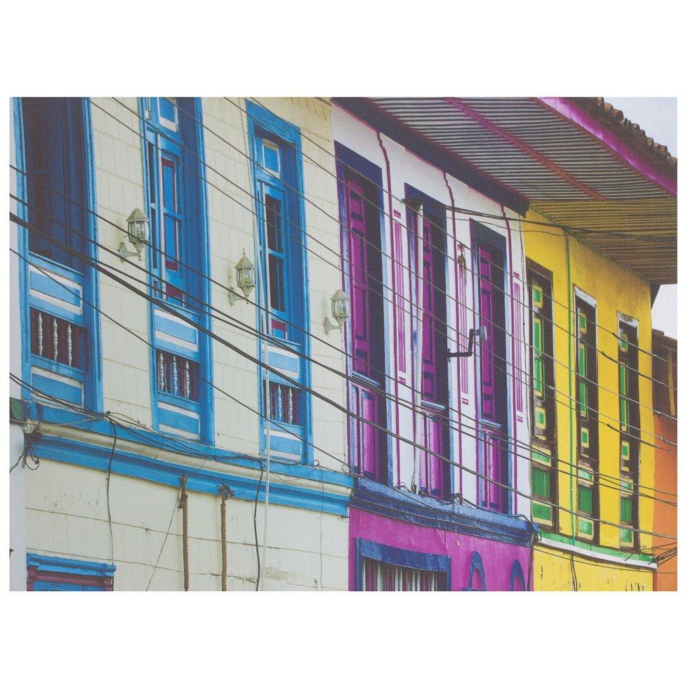 Картина на холсте 30х40 см «Окна»