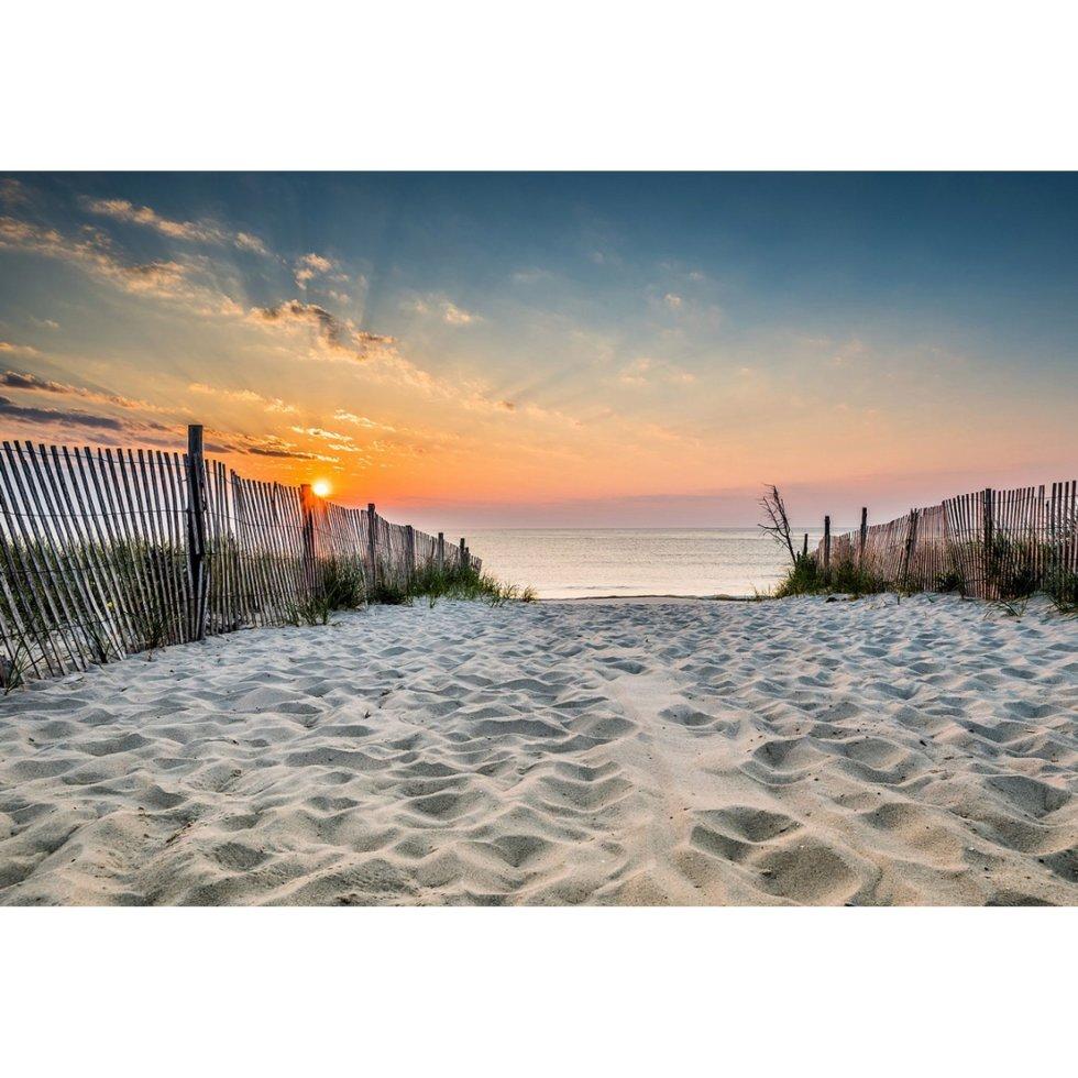 Картина на стекле 50x70 см «Дорога на пляж»