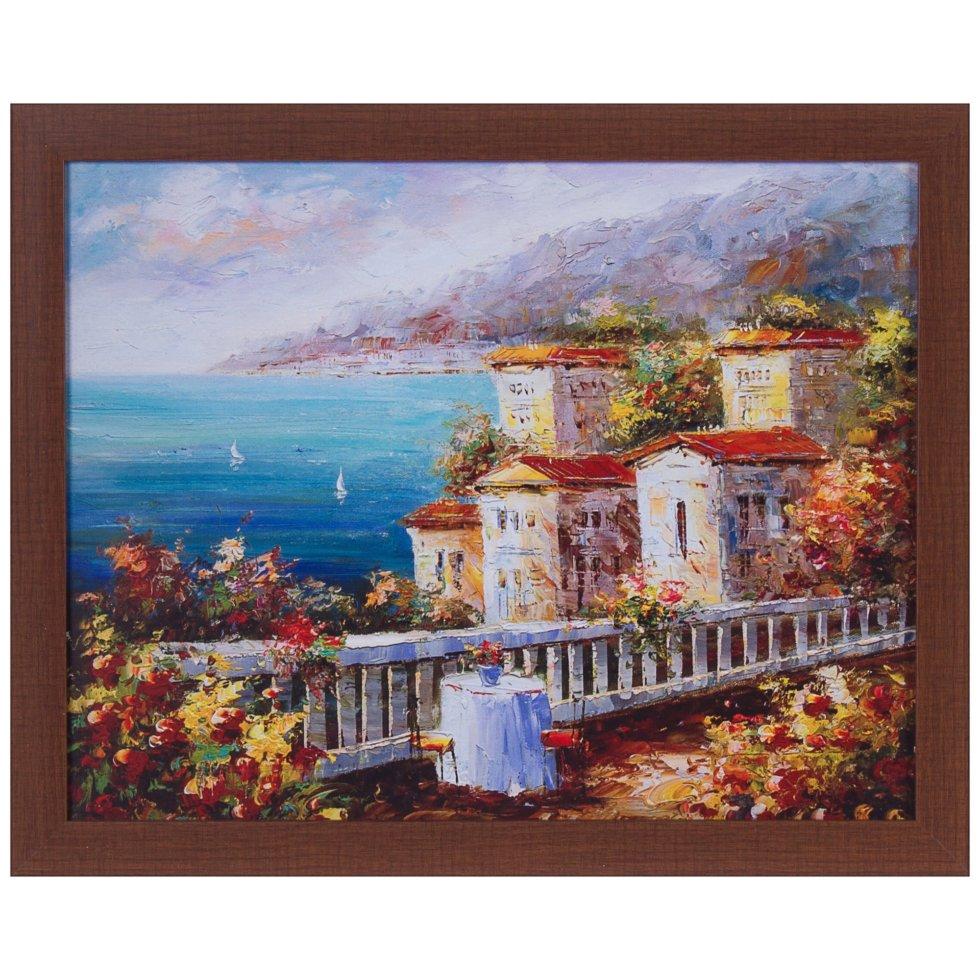 Картина в раме 40x50 см «Побережье»