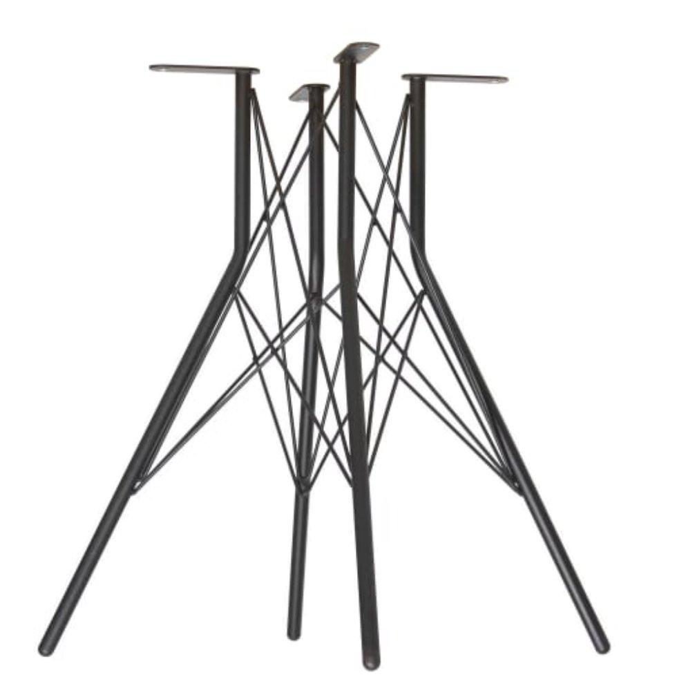 Основание для стола Sheffilton SHT-TU2-1, цвет чёрный муар