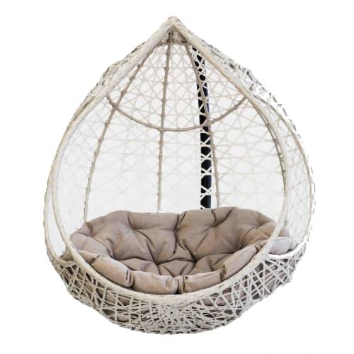 Кресло подвесное «Марокко», цвет серый