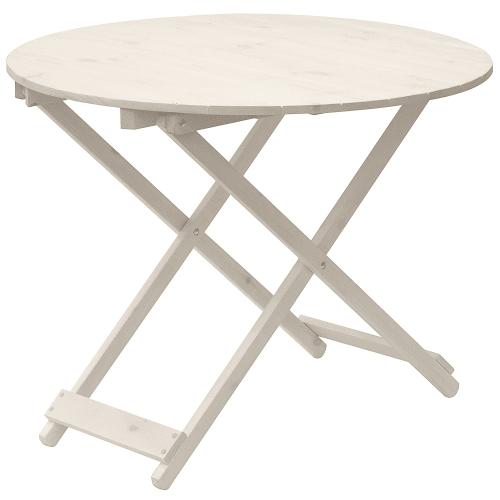 Стол круглый «Бриз» раскладной, окрашенный