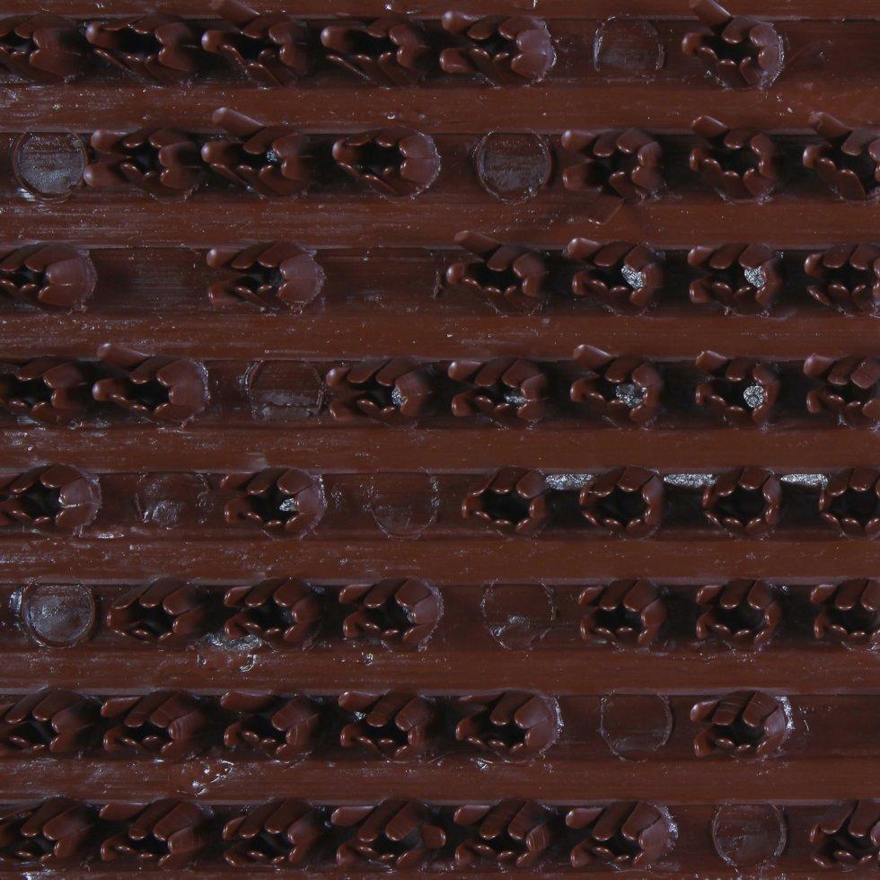 Дорожка «Ромб» 0,9 м цвет коричневый