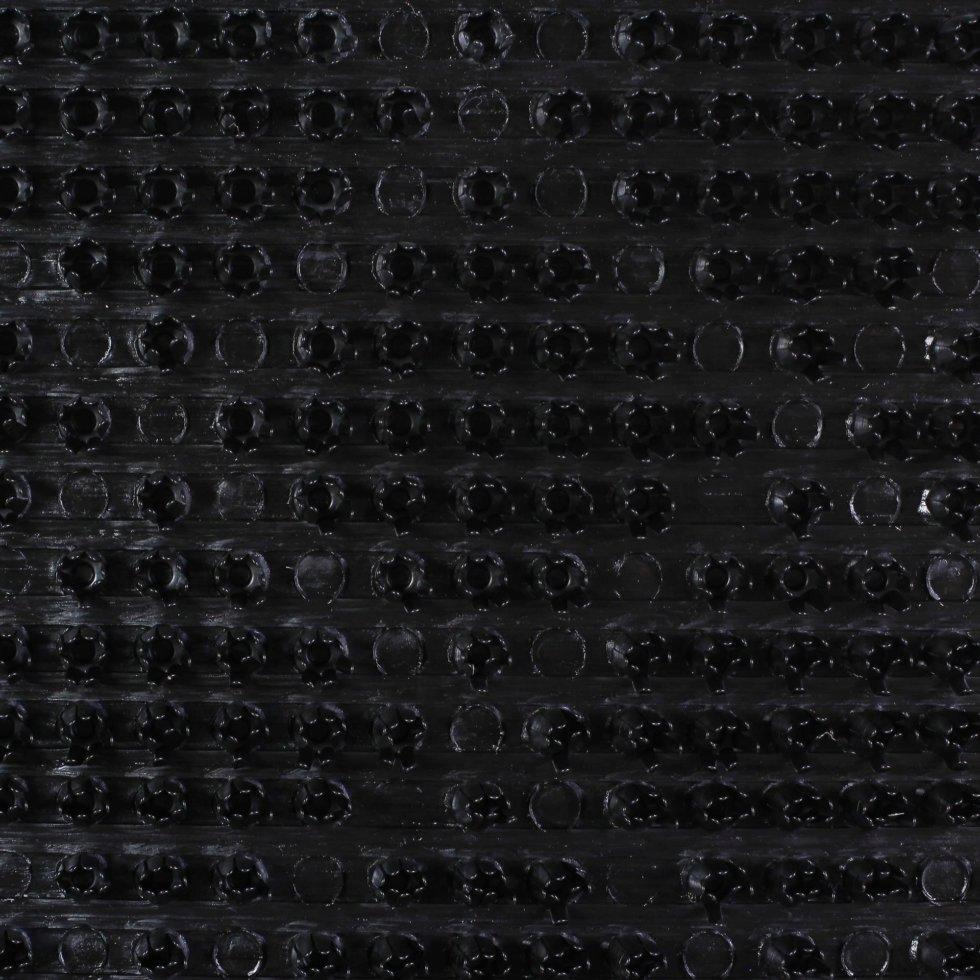 Дорожка «Ромб» 0,9 м цвет чёрный