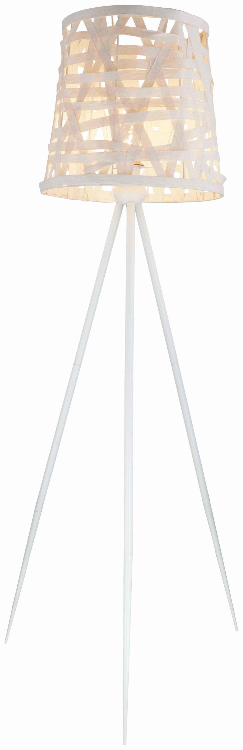 Торшер 15223S 1xE27х60 Вт 156 cм, цвет белый