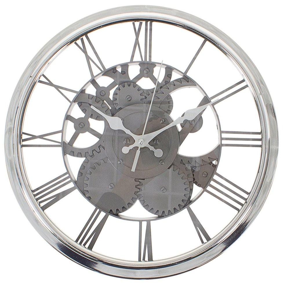 Часы настенные Прозрачный механизм диаметр 31 см
