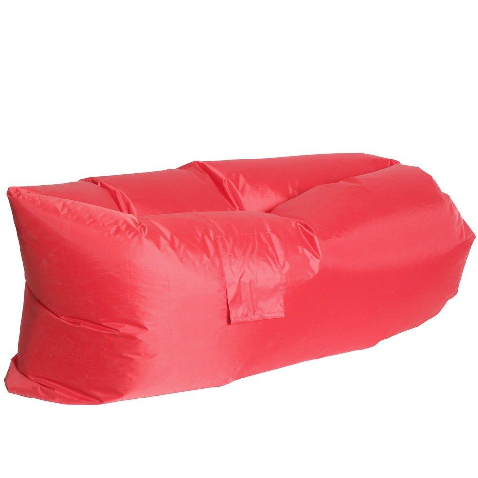 Диван надувной «Long» 220x70 см, цвет красный